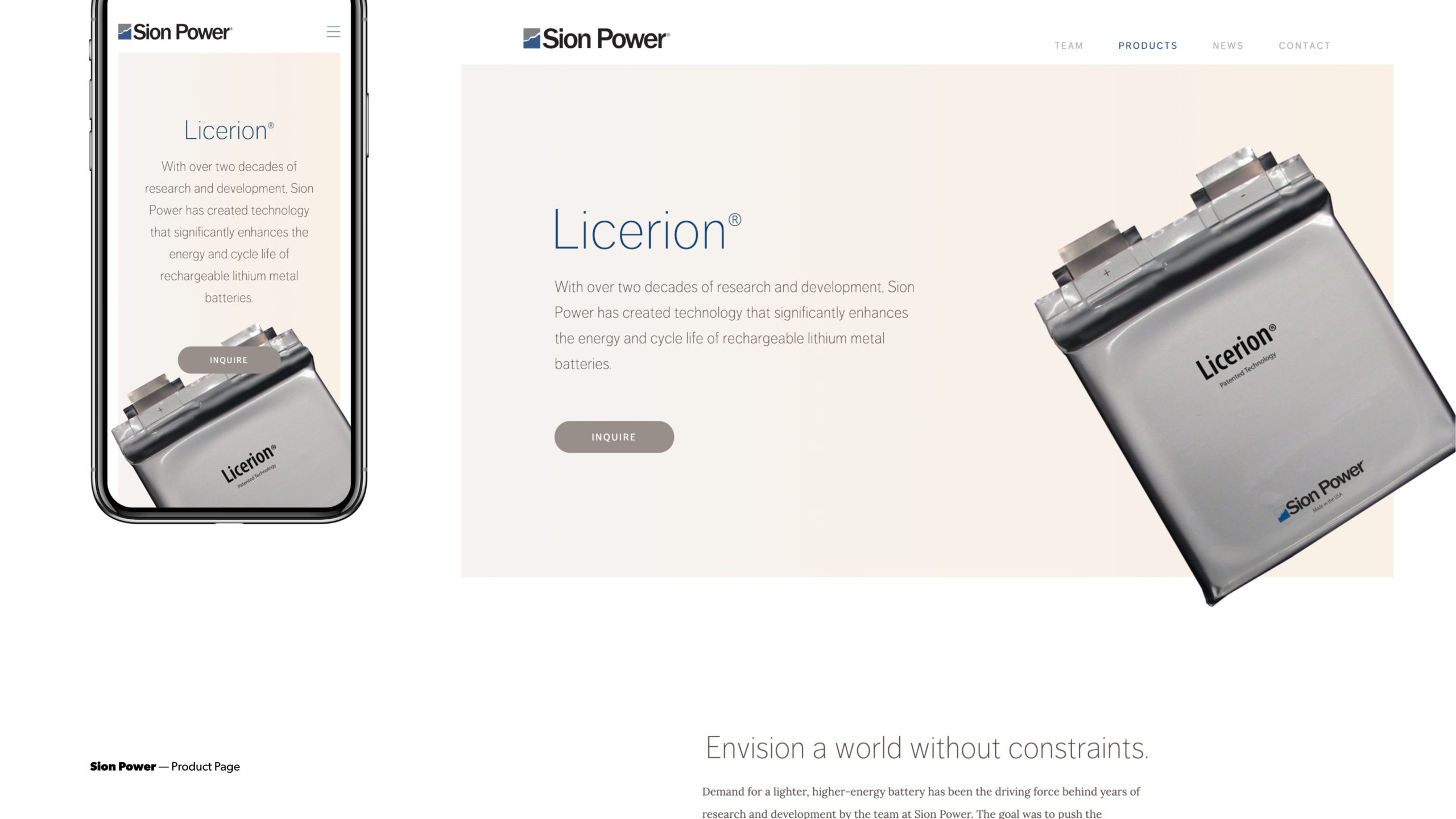 SionPower – 3@2x
